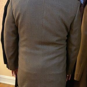Canali Suits & Blazers - Canali 46L brown Houndstooth Blazer